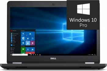 Laptop Dell Latitude E5470 Intel Core i7-6820HQ 256GB 8GB Win10 Pro FullHD Laptop laptopuri
