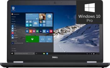 Laptop Dell Latitude E5570 Intel Core Skylake i7-6600U 512GB 8GB AMD Radeon R7 M360 2GB Win10 Pro FullHD Laptop laptopuri