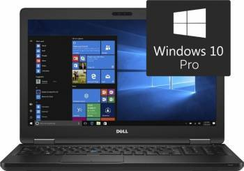 Laptop Dell Latitude E5580 Intel Core Kaby Lake i7-7820H 256GB 16GB Nvidia GeForce 940MX Win10 Pro FullHD Laptop laptopuri
