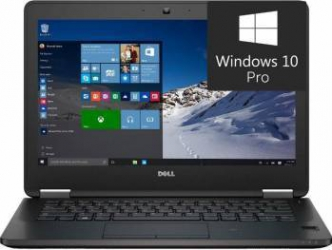 Laptop Dell Latitude E7270 Intel Core i5-6300U 512GB 8GB Win10 Pro FullHD Laptop laptopuri