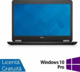 Laptop DELL Latitude E7450 i5-5300U 8GB 256GB SSD Win 10 Pro Laptopuri Reconditionate,Renew