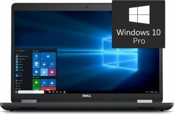 Laptop Dell Precision 3510 Intel Core i5-6300HQ 256GB 8GB AMD FirePro W5130M 2GB Win10 Pro FullHD Laptop laptopuri