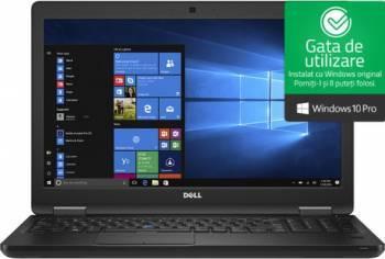Laptop Dell Precision 3520 Intel Core Kaby Lake i7-7700HQ 256GB SSD 16GB nVidia Quadro M620 2GB FullHD Win10 Pro FPR Laptop laptopuri