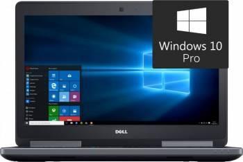 Laptop Dell Precision 7510 Intel Core i5-6300HQ 256GB 8GB nVidia Quadro M1000M 2GB Win10 Pro FullHD Laptop laptopuri