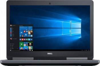 Laptop Dell Precision 7520 Intel Core KabyLake i7-7920HQ 1TB HDD+256GB SSD 32GB nVidia Quadro M2200 4GB Win10Pro FHD FPR Laptop laptopuri