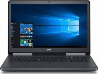 Laptop Dell Precision 7720 Intel Core KabyLake i7-7920HQ 1TB HDD+512GB SSD 32GB Nvidia Quadro P4000 8GB Win10Pro FHD FPR Laptop laptopuri