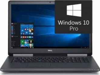 Laptop Dell Precision 7720 Intel Xeon UP E3-1535MV6 1TB HDD+512GB SSD 32GB Nvidia Quadro P4000 8GB Win10 Pro FullHD Laptop laptopuri