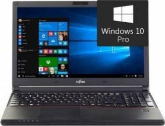 Laptop Fujitsu Lifebook E557 Intel Core Kaby Lake i7-7500U 256GB 8GB Win10 Pro HD FPR Laptop laptopuri