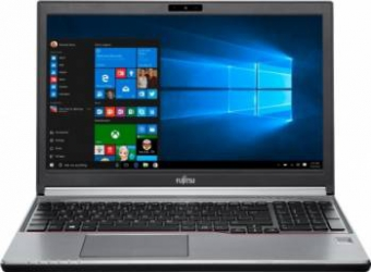 Laptop Fujitsu Lifebook E756 non-vPro Intel Core i7-6600U 256GB 8GB Win10 Pro HD Laptop laptopuri