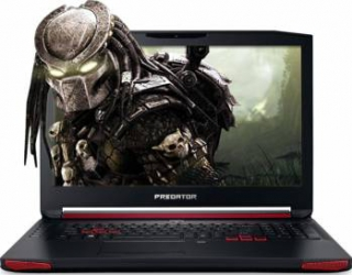 Laptop Gaming Acer Predator G9 Intel Core Kaby Lake i7-7700HQ 256GB 16GB nVidia GeForce GTX 1070 8GB FullHD Black Laptop laptopuri