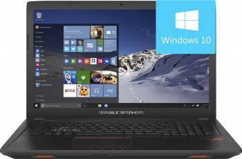 Laptop Gaming Asus GL753VD-GC042T Intel Core Kaby Lake i7-7700HQ 1TB 8GB Nvidia GeForce GTX 1050 4GB Win10 FullHD Resigi Laptop laptopuri