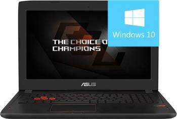 Laptop Gaming Asus ROG GL502VM-FY170T Intel Core Kaby Lake i7-7700HQ 1TB HDD+128GB SSD 12GB nVidia GTX1060 6GB Win10 FHD Laptop laptopuri