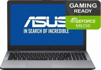 pret preturi Laptop Gaming Asus VivoBook F542UN Intel Core Kaby Lake R (8th Gen) i5-8250U 500GB+128GB SSD 8GB nVidia GeForce MX150 4G