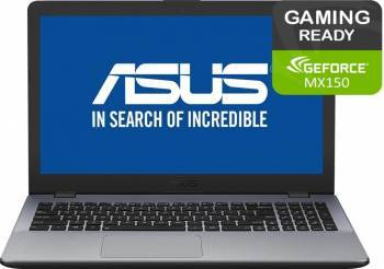 Laptop Gaming Asus VivoBook Max F542UN Intel Core Kaby Lake R (8th Gen) i7-8550U 1TB HDD 8GB nVidia Geforce MX150 4GB Laptop laptopuri