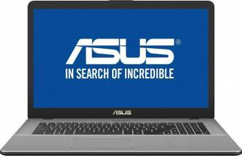 Laptop Asus VivoBook Pro 17 N705UQ Intel Core Kaby Lake i7-7500U 1TB HDD+128GB 8GB nVidia GeForce 940MX 2GB Endless  laptop laptopuri