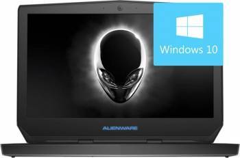 Laptop Gaming Dell Alienware 13 Intel Core i7-6500U 256GB 16GB nVidia GeForce GTX960M 4GB Win10 QHD+ Laptop laptopuri