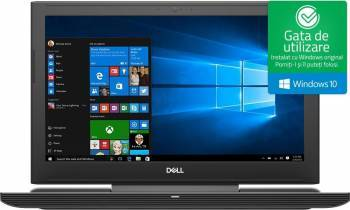 Laptop Gaming Dell Inspiron 7577 Intel Core Kaby Lake i7-7700HQ 1TB HDD + 512GB SSD 16GB nVidia GeForce GTX 1060 6GB UHD Laptop laptopuri