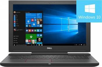 Laptop Gaming Dell Inspiron 7577 Intel Core i7-7700HQ 1TB HDD+256GB SSD 16GB nVidia GTX 1060 6GB FullHD Laptop laptopuri