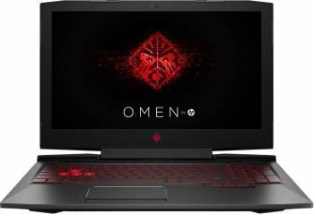 Laptop Gaming HP Omen Intel Core Kaby Lake i7-7700HQ 256GB 8GB nVidia GeForce GTX 1050 Ti 4GB FullHD Laptop laptopuri