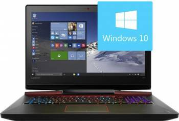 Laptop Gaming Lenovo IdeaPad Y910-17ISK Intel Core Skylake i7-6700HQ 1TB HDD+512GB SSD 16GB Nvidia GTX 1070 8GB Win10 Fu Laptop laptopuri
