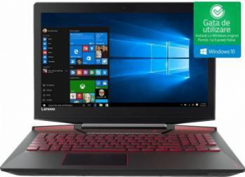 Laptop Gaming Lenovo Legion Y720-15IKB Intel Core Kaby Lake i7-7700HQ 1TB HDD+512GB SSD 16GB nVidia GTX 1060 6GB Win10 F Laptop laptopuri