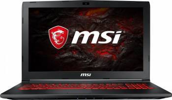 Laptop Gaming MSI GL62M 7RDX Intel Core Kaby Lake i7-7700HQ 1TB 8GB nVidia GeForce GTX 1050 4GB FullHD Negru Laptop laptopuri