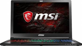 Laptop Gaming MSI GS63 7RD Intel Core Kaby Lake i7-7700HQ 256GB 8GB nVidia GeForce GTX 1050 2GB FullHD Laptop laptopuri