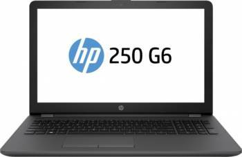 Laptop HP 250 G6 Intel Celeron N3350 500GB 4GB HD Dark Ash Silver Laptop laptopuri