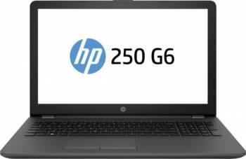 Laptop HP 250 G6 Intel Celeron N3350 500GB 4GB HD Dark Ash Silver Laptop laptopuri