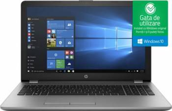 Laptop HP 250 G6 Intel Core i3-6006U 500GB 4GB Win10 FullHD Laptop laptopuri