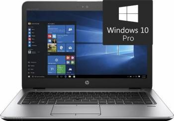 Laptop HP EliteBook 840 G4 Intel Core Kaby Lake i7-7500U 512B 16GB Win10 Pro FullHD Silver Fingerprint Laptop laptopuri