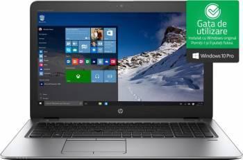 Laptop HP EliteBook 850 G4 Intel Core Kaby Lake i5-7200U 500GB 4GB Win10 Pro HD Fingerprint Laptop laptopuri