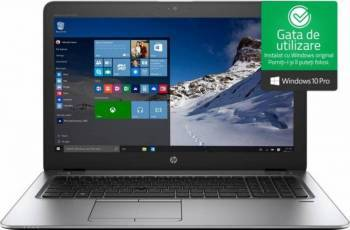 Laptop HP EliteBook 850 G4 Intel Core Kaby Lake i5-7200U 500GB 8GB Win10 Pro HD Fingerprint Laptop laptopuri