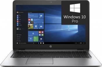 Laptop HP EliteBook 850 G4 Intel Core Kaby Lake i5-7300U 256GB 8GB AMD Radeon R7 M465 2GB Win10 Pro FullHD FPR Silver Laptop laptopuri