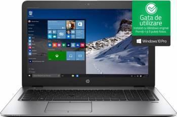 Laptop HP EliteBook 850 G4 Intel Core Kaby Lake i7-7500U 256GB 8GB Win10 Pro FullHD Fingerprint Laptop laptopuri