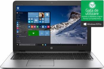 Laptop HP EliteBook 850 G4 Intel Core Kaby Lake i7-7500U 512GB 16GB AMD Radeon R7 M465 2GB Win10 Pro FullHD Fingerprint Laptop laptopuri
