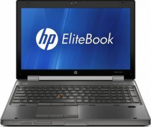 Laptop HP Elitebook 8560w i7-2620M 320GB 16GB DVD-RW Quadro 2000 Win10 Pro