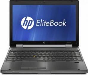 Laptop HP EliteBook 8560w i7-2630QM 16GB 500GB AMD M5950 Win 10 Pro Laptopuri Reconditionate,Renew