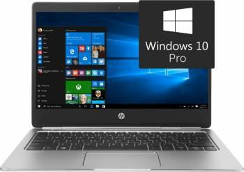 Laptop HP EliteBook Folio G1 Intel Core m5-6Y54 512GB 8GB Win10 Pro FullHD Laptop laptopuri
