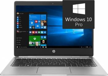 Laptop HP EliteBook Folio G1 Intel Core m7-6Y75 256GB 8GB Win10 Pro FullHD Laptop laptopuri