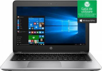 Laptop HP ProBook 430 G4 Intel Core Kaby Lake i5-7200U 128GB 8GB Win10 Pro FullHD Fingerprint Laptop laptopuri
