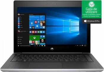 Laptop HP ProBook 430 G5 Intel Core Kaby Lake R 8th Gen i7-8550U 1TB HDD+256GB SSD 8GB Win10 Pro FullHD FPR Laptop laptopuri