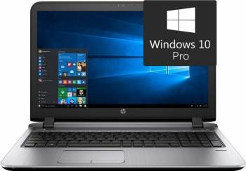 Laptop HP ProBook 450 G3 Intel Core Skylake i3-6100U 500GB 4GB Win10 Pro Fingerprint Laptop laptopuri