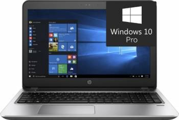 Laptop HP ProBook 450 G4 Intel Core Kaby Lake i3-7100U 500GB-7200rpm 4GB Win10 Pro HD Fingerprint Laptop laptopuri