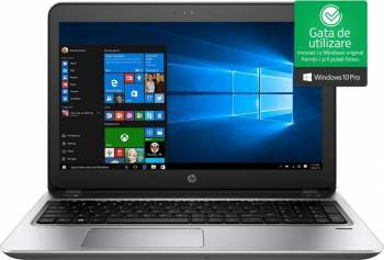 Laptop HP ProBook 450 G4 Intel Core Kaby Lake i5-7200U 128GB 4GB Win10 Pro HD Fingerprint Laptop laptopuri
