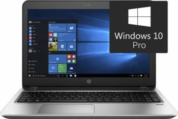 Laptop HP ProBook 450 G4 Intel Core Kaby Lake i5-7200U 1TB HDD+256GB SSD 4GB Win10 Pro FullHD Fingerprint laptop laptopuri