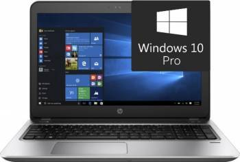 Laptop HP ProBook 450 G4 Intel Core Kaby Lake i5-7200U 1TB HDD+256GB SSD 8GB Win10 Pro FullHD Fingerprint Laptop laptopuri