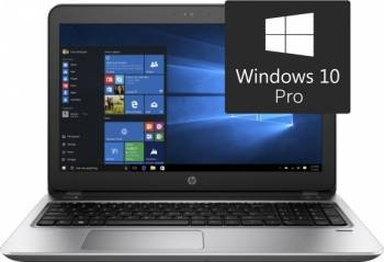 Laptop HP ProBook 450 G4 Intel Core Kaby Lake i5-7200U 256GB 8GB Win10Pro Full HD Fingerprint Reader Laptop laptopuri
