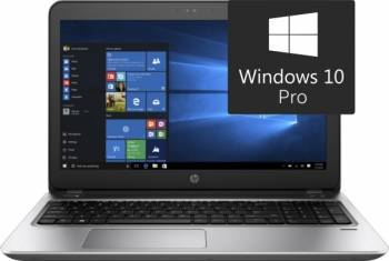 Laptop HP ProBook 450 G4 Intel Core Kaby Lake i7-7500U 256GB 8GB Win10 Pro FullHD Fingerprint Reader
