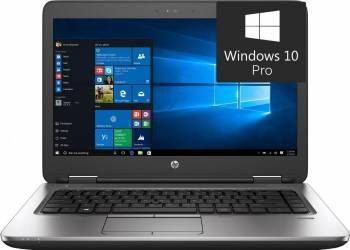 Laptop HP ProBook 640 G2 Intel Core i3-6100U 500GB 4GB Win10 Pro HD Laptop laptopuri